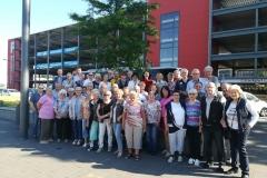 Gruppenfoto kurz vor der Rückfahrt nach Heidennau