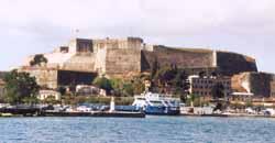 Korfu neue Festung