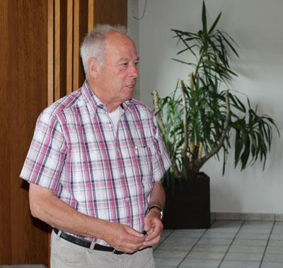 Vorsitzender Manfred Catrin