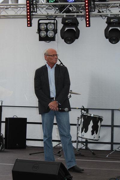 Troisdorfer 1. Beigeordnete Heinz Eschbach