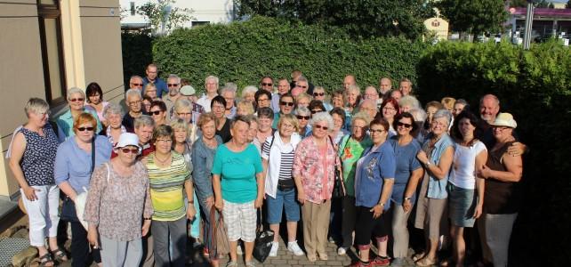 Unsere Partnerstadt Heidenau  –wieder einmal ein großartiger Gastgeber.