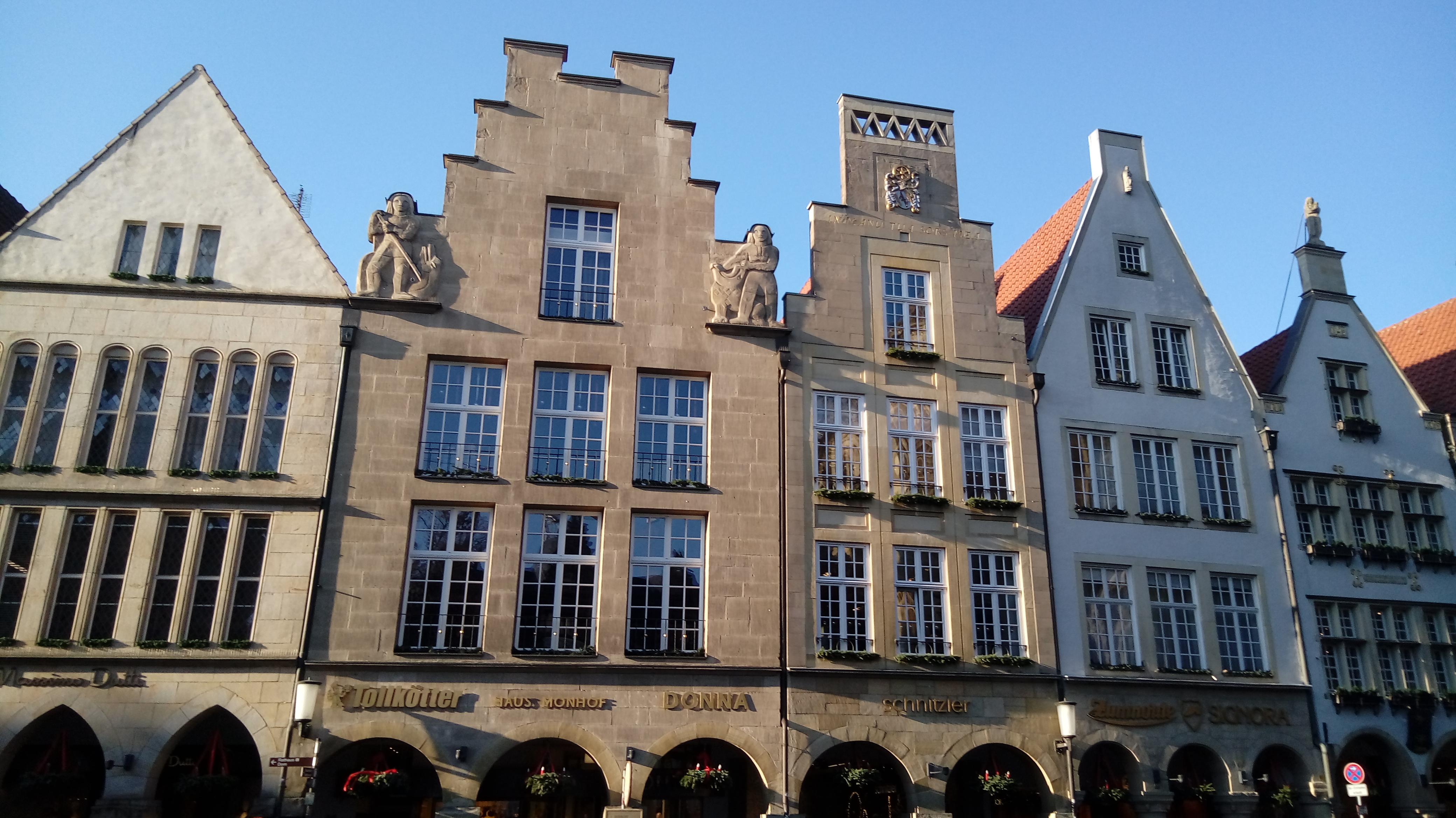 Unsere Fahrt nach Münster
